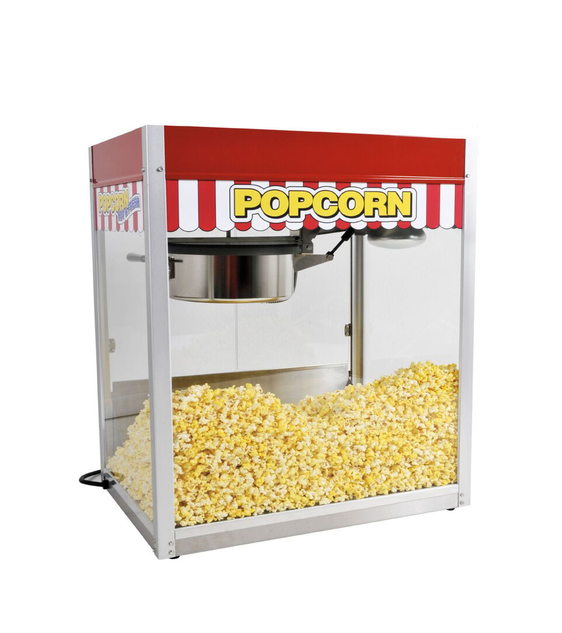paragon popcorn machine manual